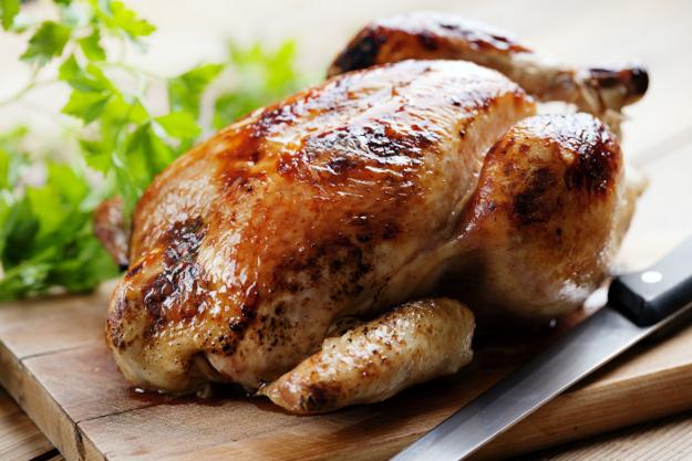 sanjati jedenje mesa piletine svinjetine