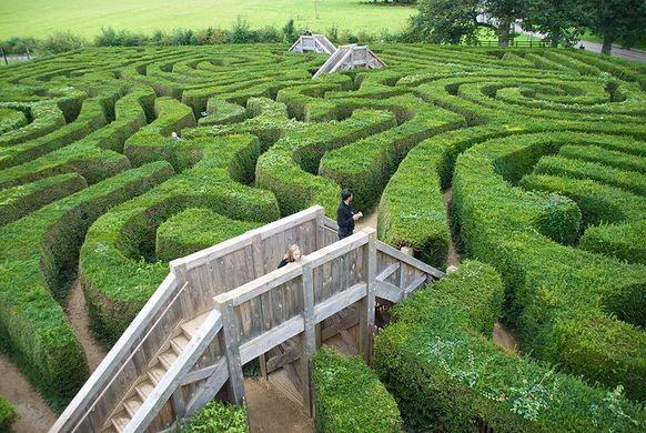 šta znači sanjati lavirint labirint