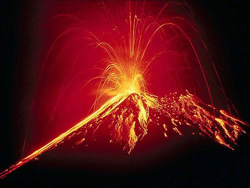 sanjati erupciju vulkana