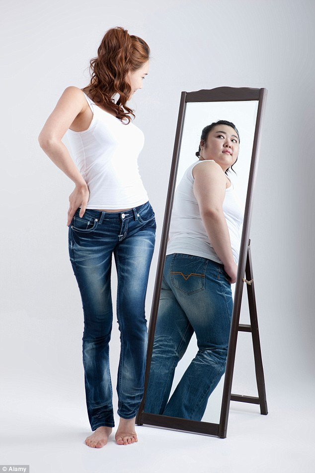 sanjati da ste mršavi debeli